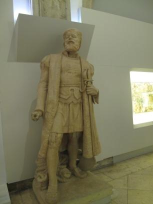 Statue de Vasco de Gama au musée de la Marine.